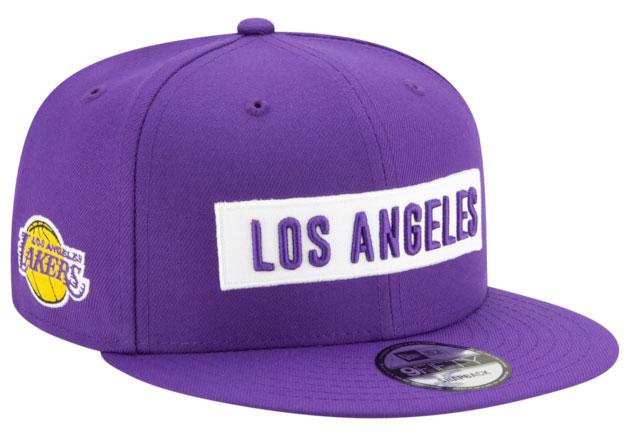 purple-metallic-jordan-4-lakers-hat-2