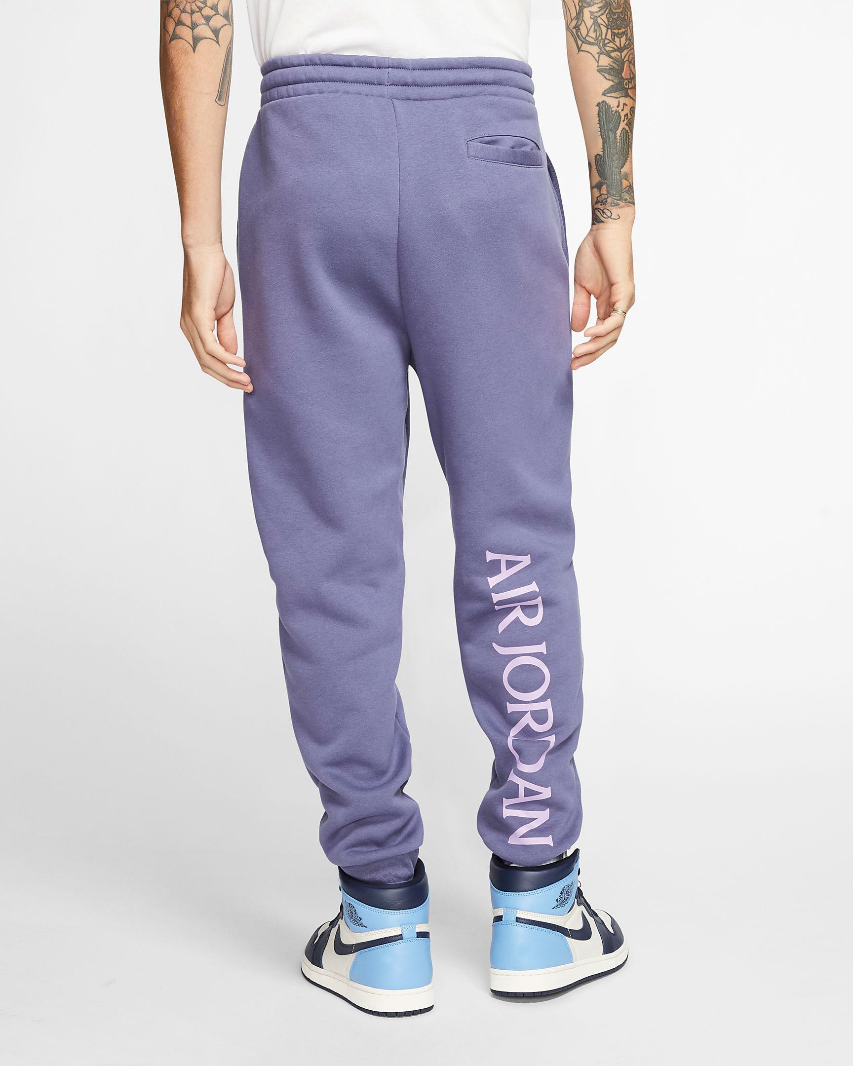 purple-metallic-jordan-4-pants-2