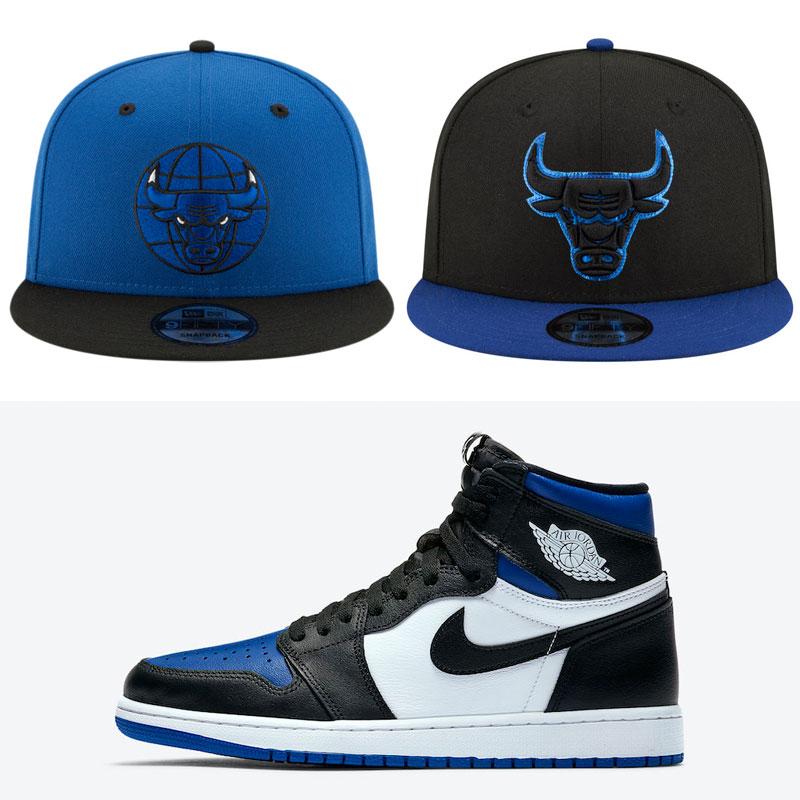 royal-toe-jordan-1-bulls-hats