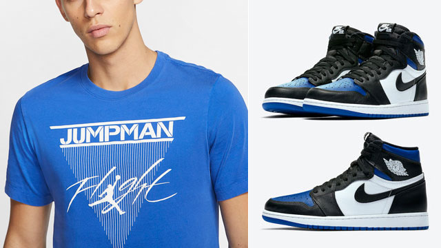 royal-toe-jordan-1-high-tee-shirt
