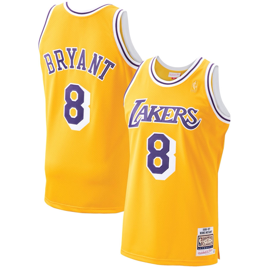 the-last-dance-kobe-bryant-lakers-jersey-8-yellow