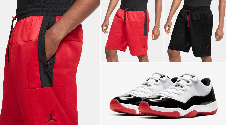 air-jordan-11-low-concord-bred-matching-shorts