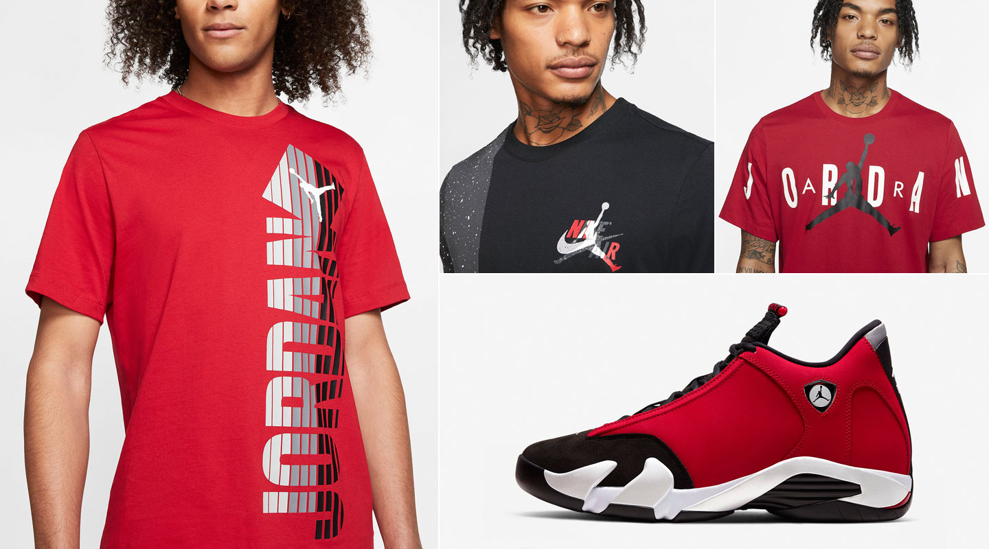 air-jordan-14-gym-red-toro-shirts