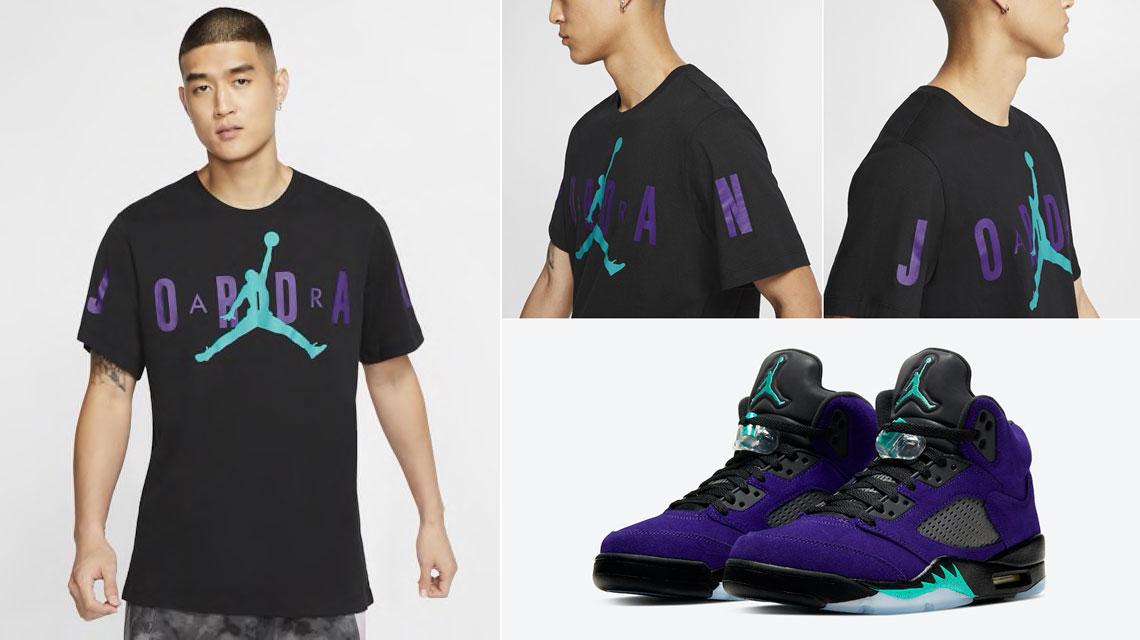 air-jordan-5-alternate-grape-ice-shirt
