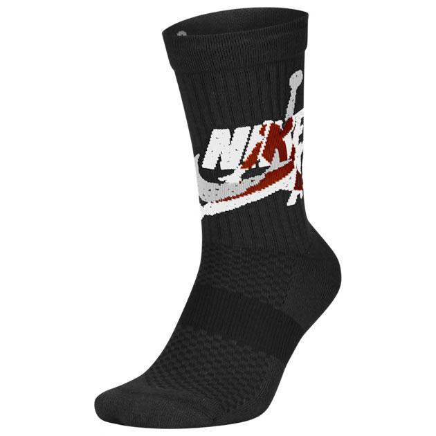 air-jordan-5-top-3-black-red-socks