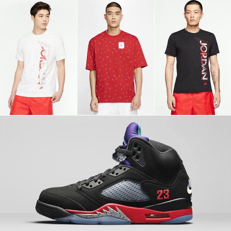 air-jordan-5-top-3-nike-air-shirts