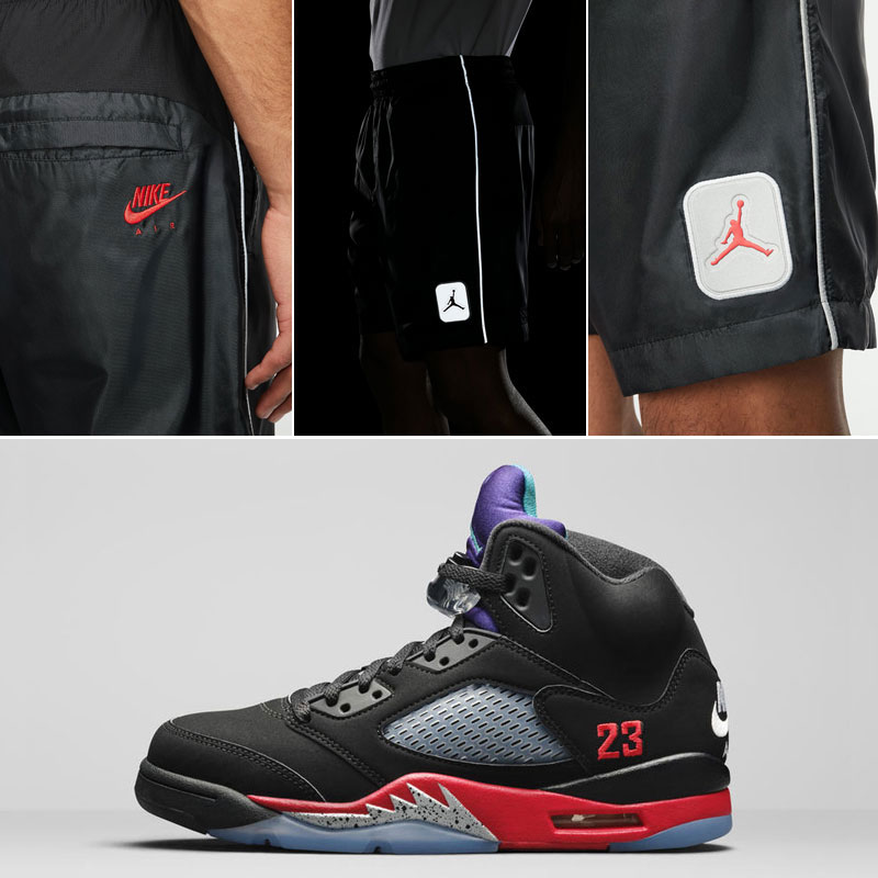 air-jordan-5-top-3-nike-air-shorts