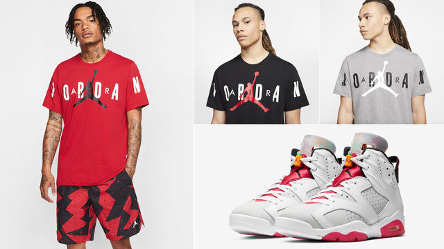 air-jordan-6-hare-shorts-and-shirt-matching-outfit