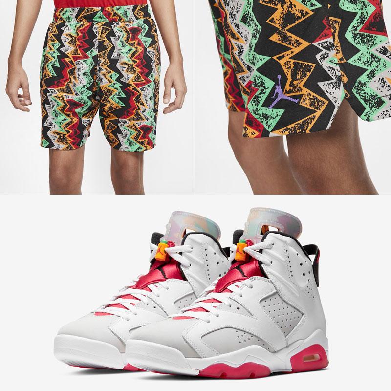 air-jordan-6-hare-sneaker-shorts