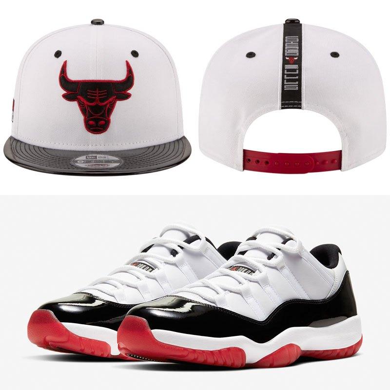 concord-bred-jordan-11-hat