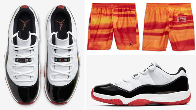 jordan-11-low-white-bred-concord-shorts