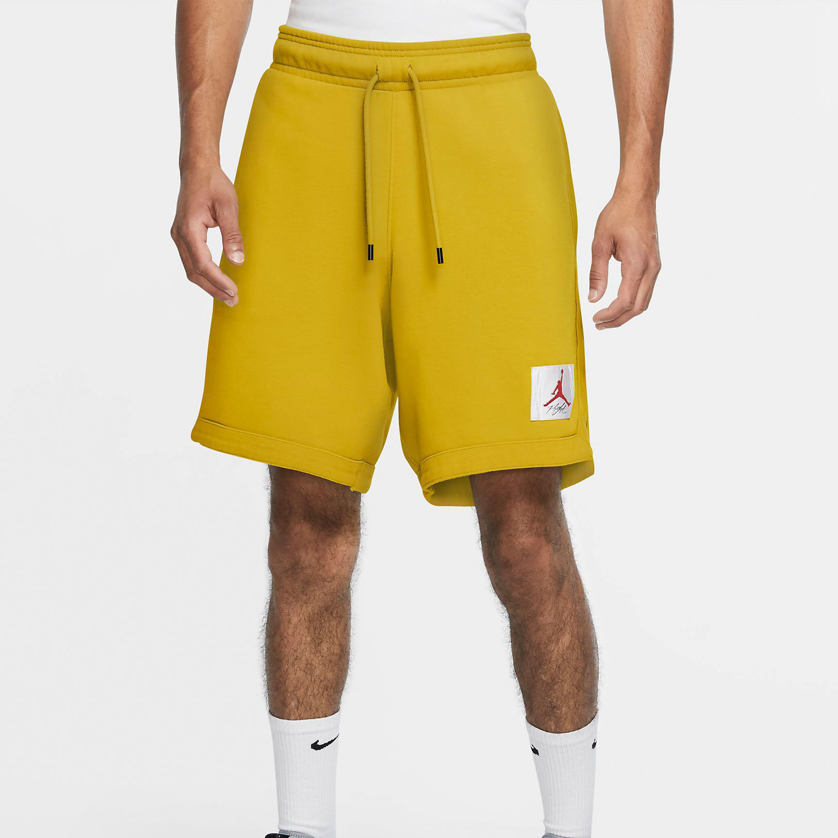 jordan-3-animal-instinct-2-yellow-shorts-match
