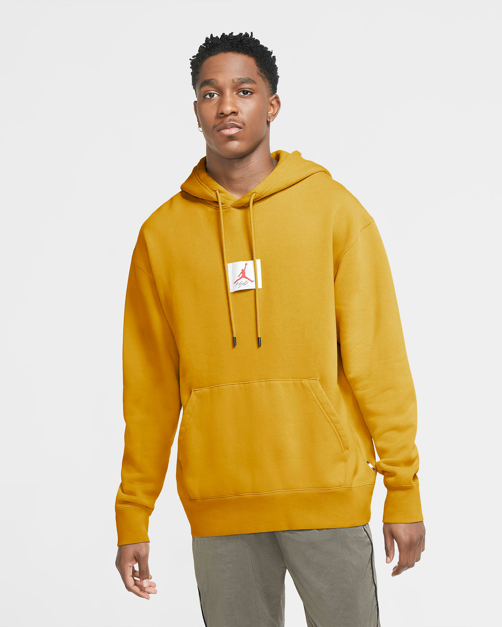 jordan-flight-yellow-hoodie