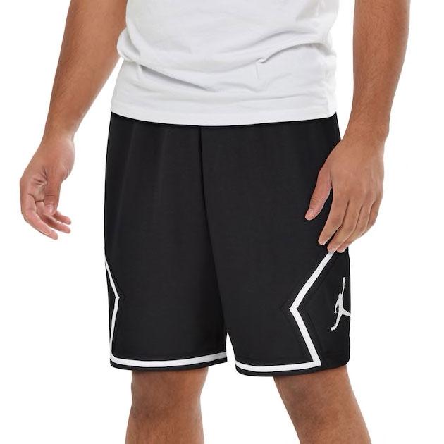 jordan-jumpman-diamond-fleece-shorts-black-white-1