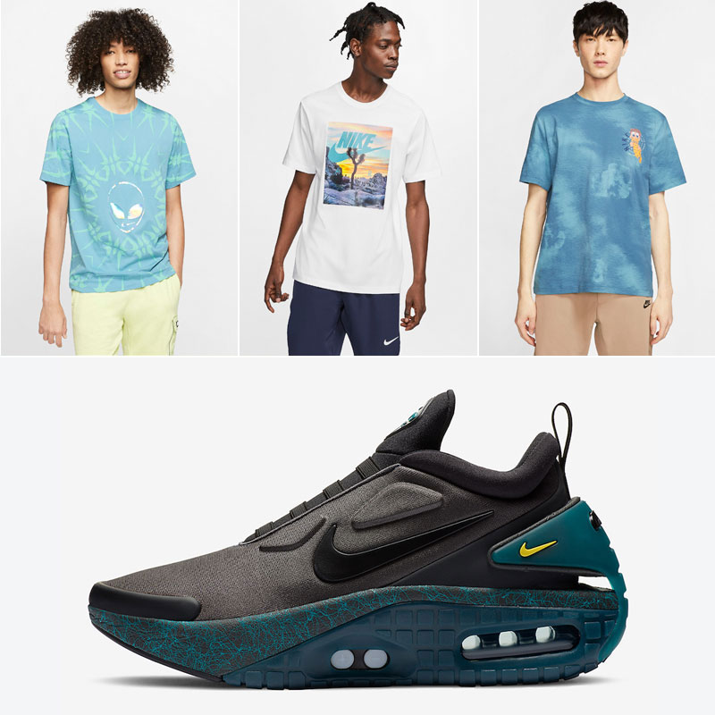 nike-adapt-auto-max-anthracite-green-shirts