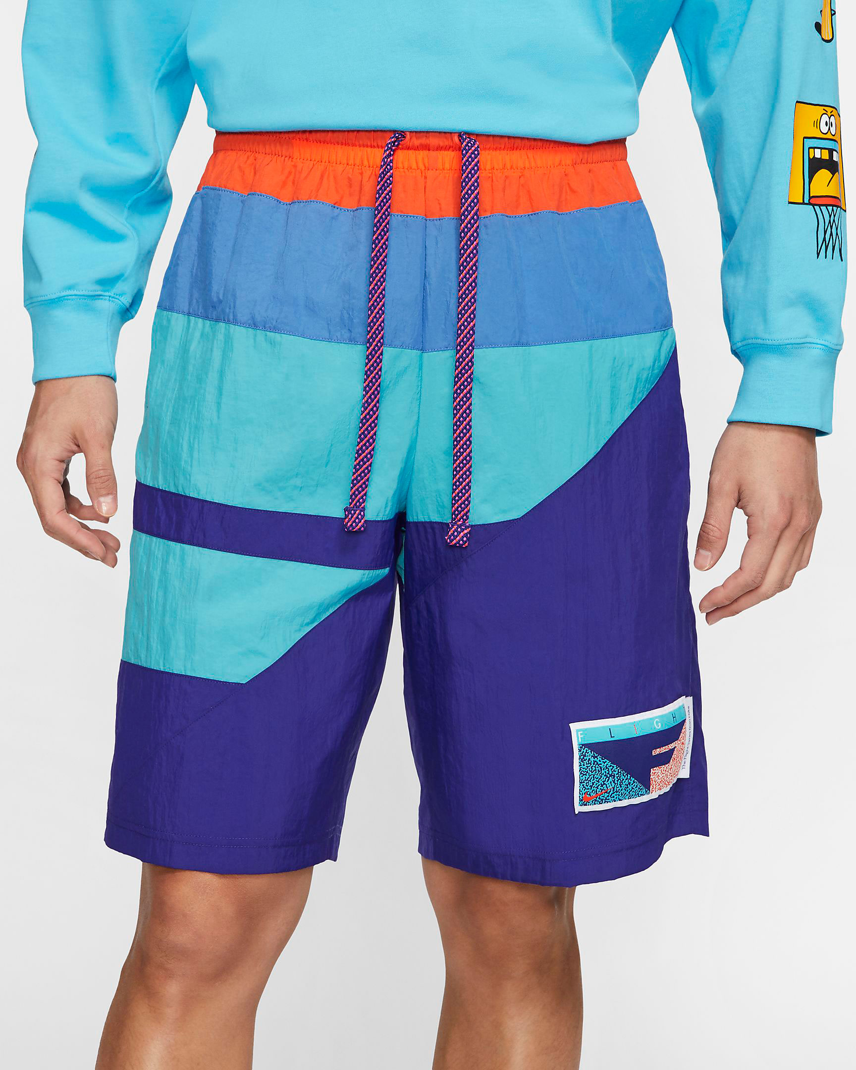 nike-flight-purple-teal-aqua-shorts