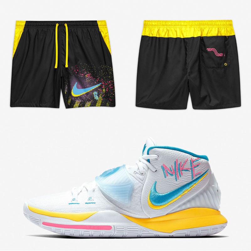 nike-kyrie-6-neon-graffiti-90s-shorts-black-yellow