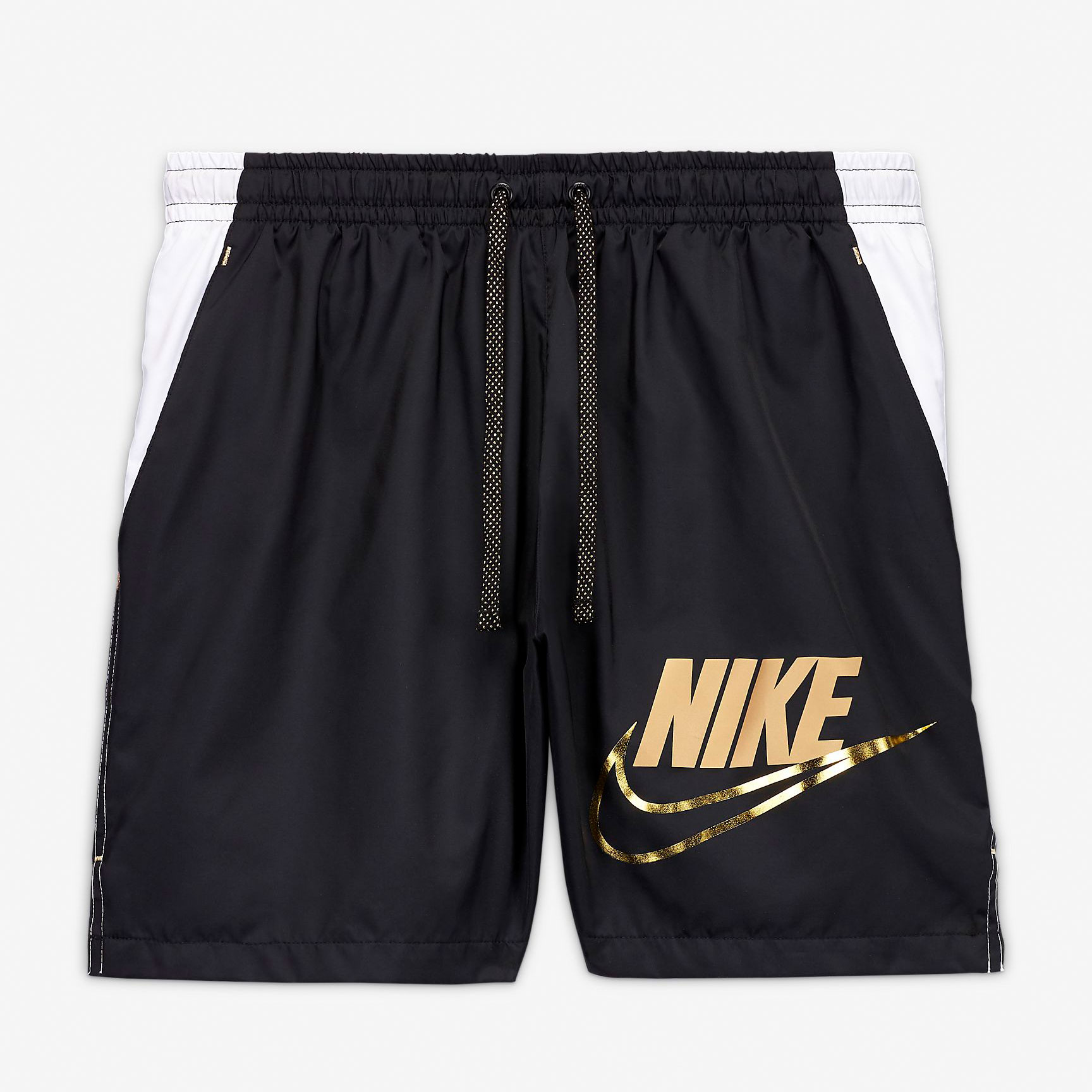 nike-shorts-black-white-gold-1