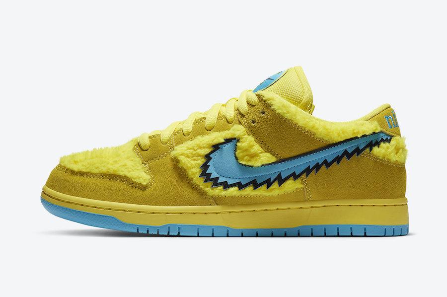 Grateful-Dead-Nike-SB-Dunk-Low-Yellow-Bear-CJ5378-700-Release-Date-Price