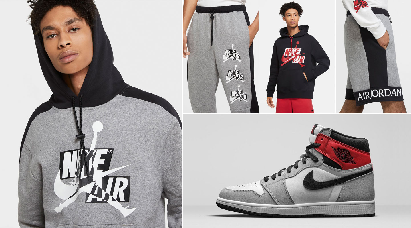 Air Jordan 1 High Light Smoke Grey Outfits Sneakerfits Com