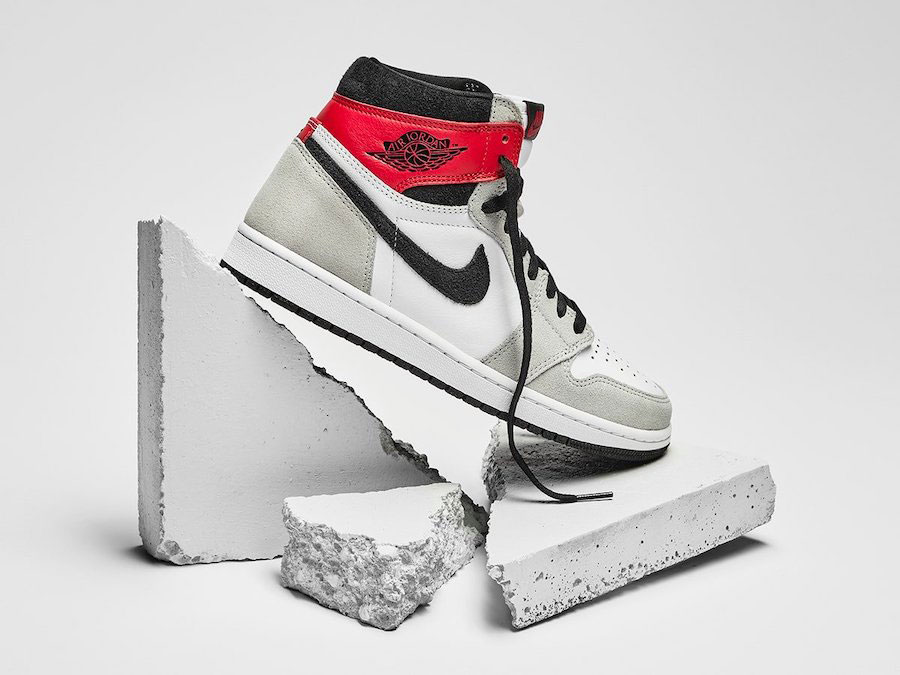 Jordan 1 High Light Smoke Grey Clothing Sneakerfits Com