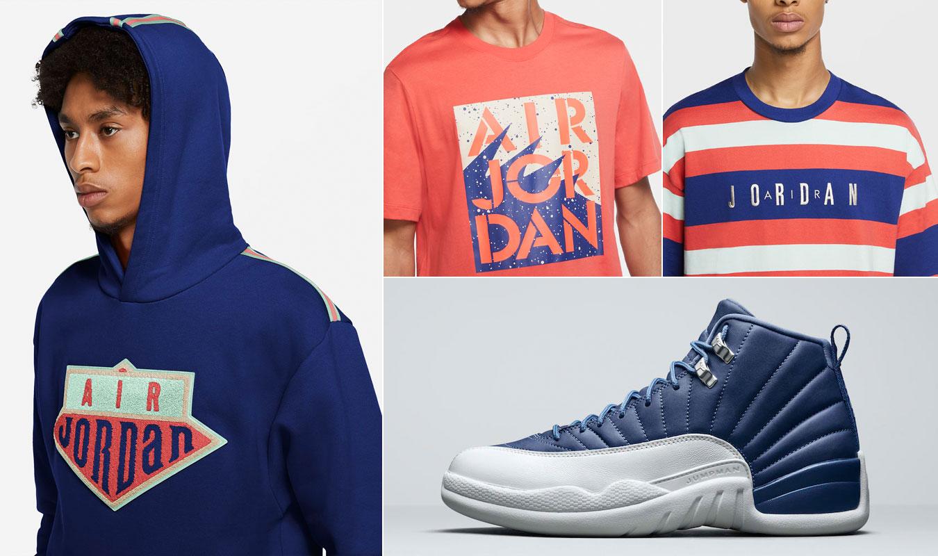 air-jordan-12-indigo-clothing-match