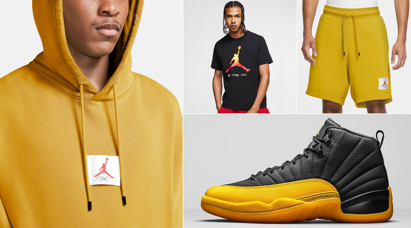 air-jordan-12-university-gold-clothing-match