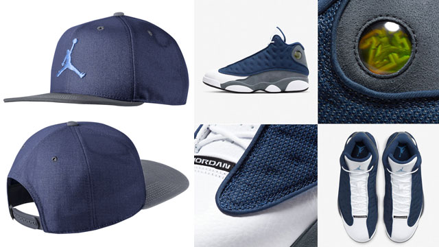 air-jordan-13-flint-jumpman-snapback-cap