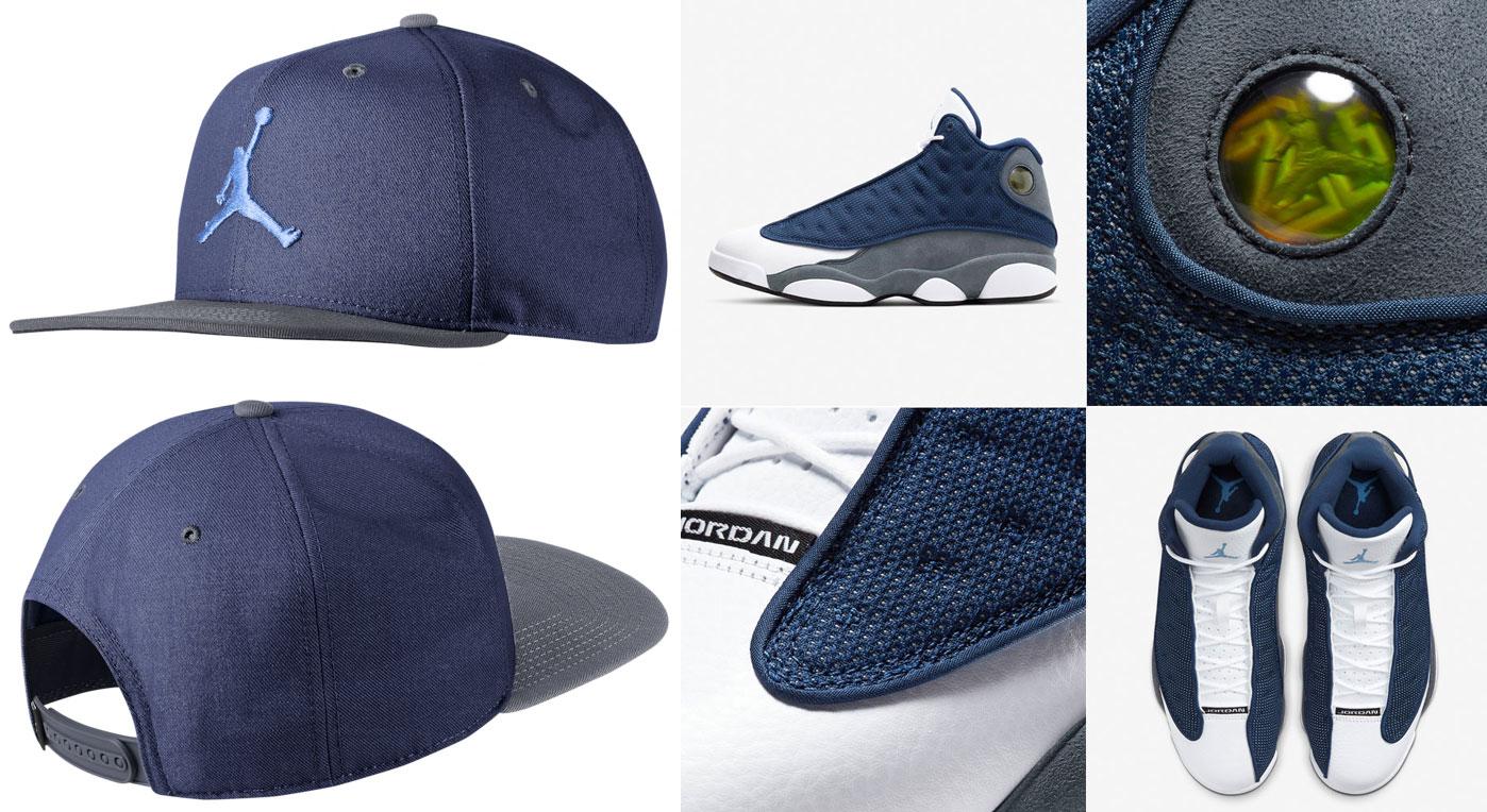 air-jordan-13-flint-jumpman-snapback-hat