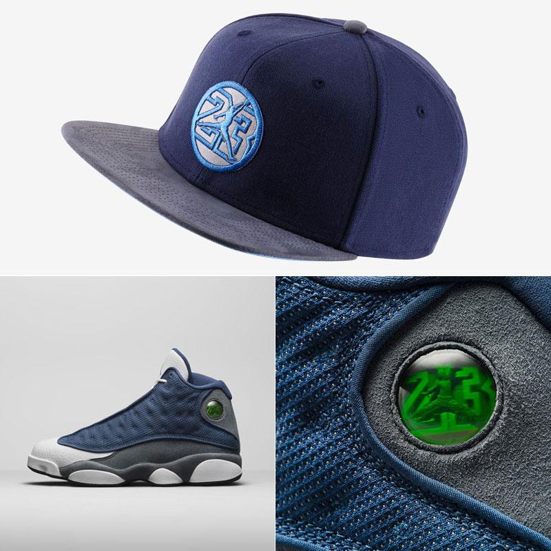 air-jordan-13-flint-snapback-hat