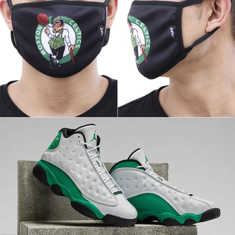 air-jordan-13-lucky-green-celtics-face-mask