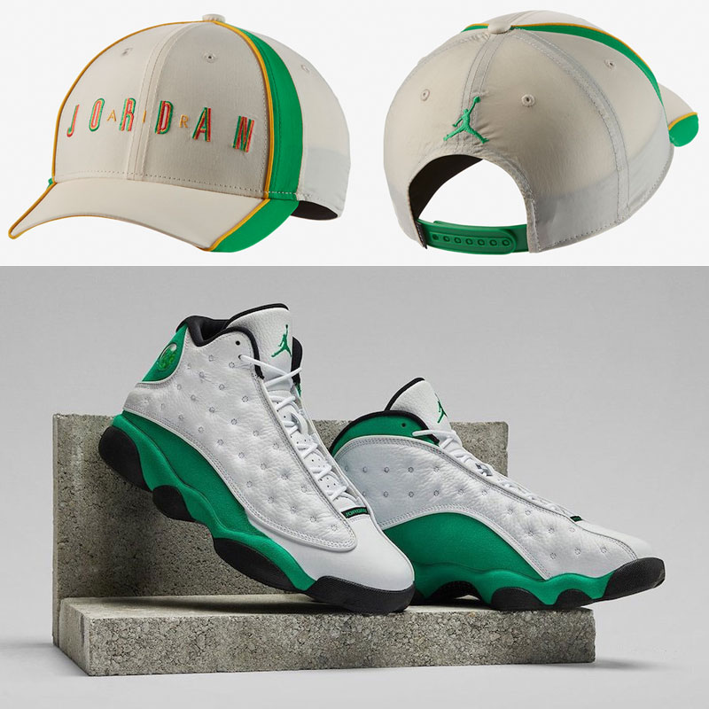 air-jordan-13-lucky-green-hat