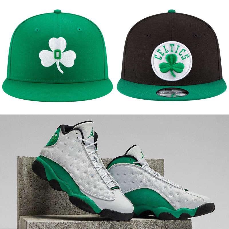 air-jordan-13-lucky-green-hats