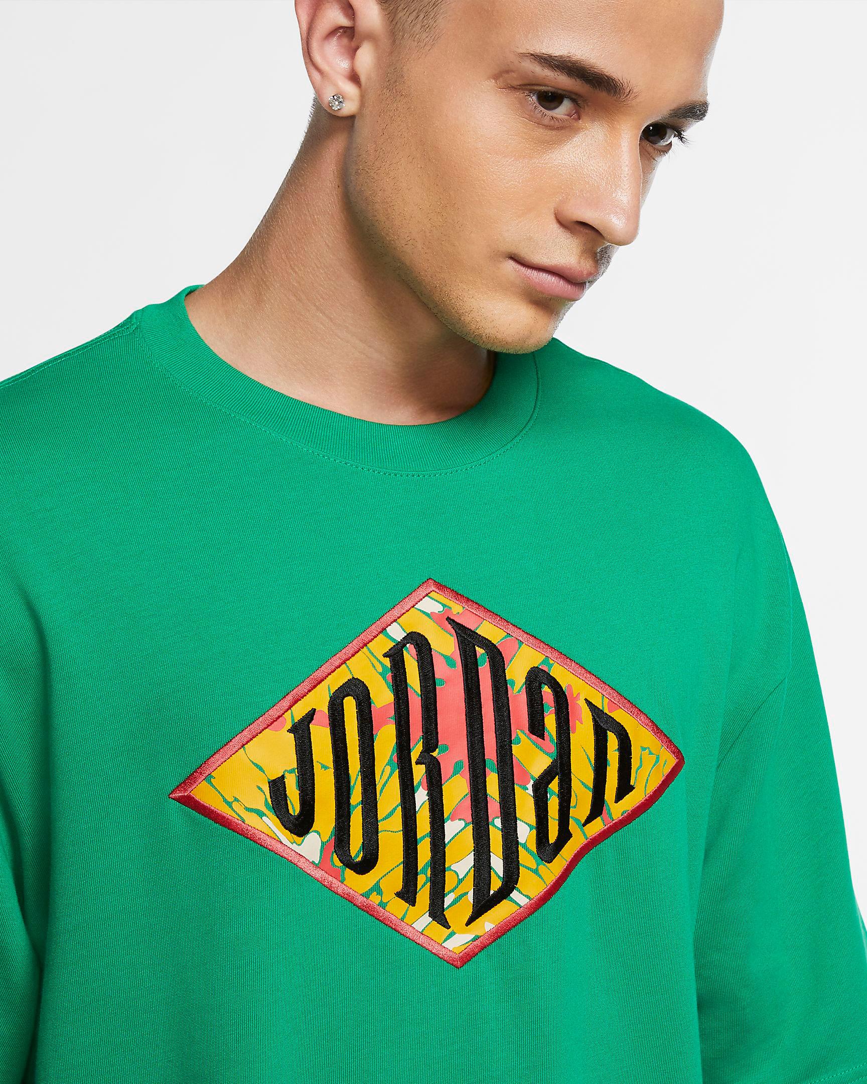 air-jordan-13-lucky-green-shirt-match
