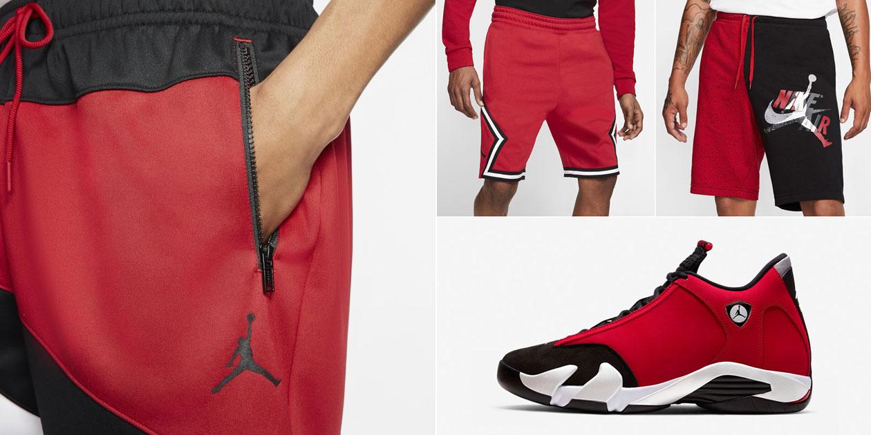 air-jordan-14-gym-red-toro-shorts
