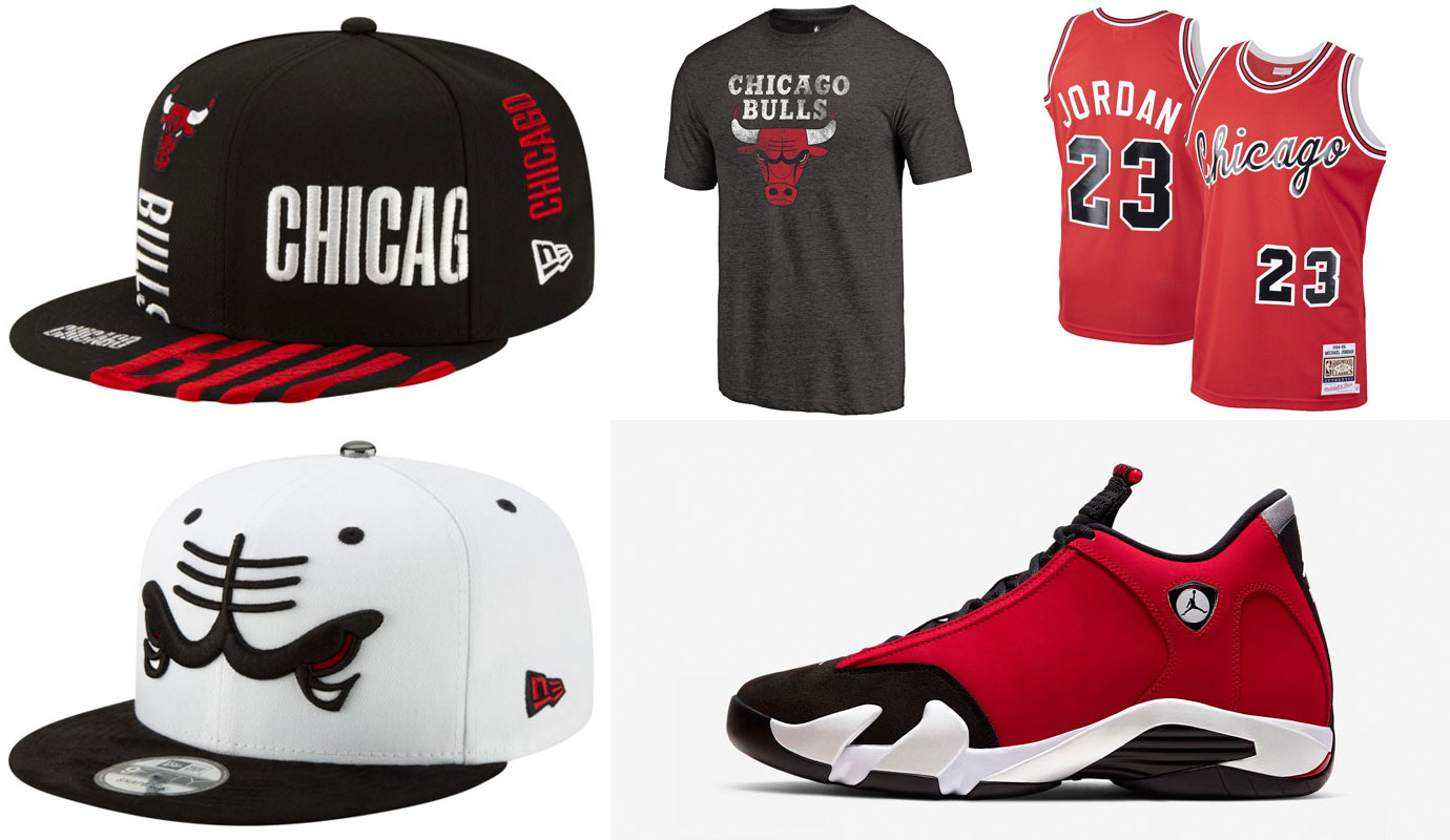 air-jordan-14-toro-gym-red-bulls-clothing-match