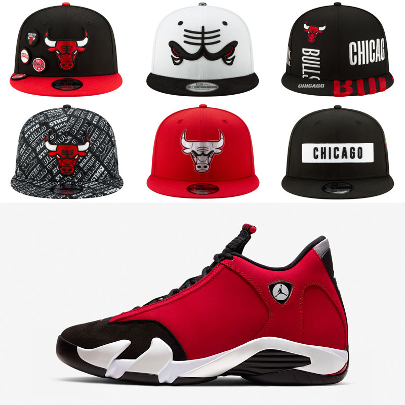 air-jordan-14-toro-gym-red-bulls-hats