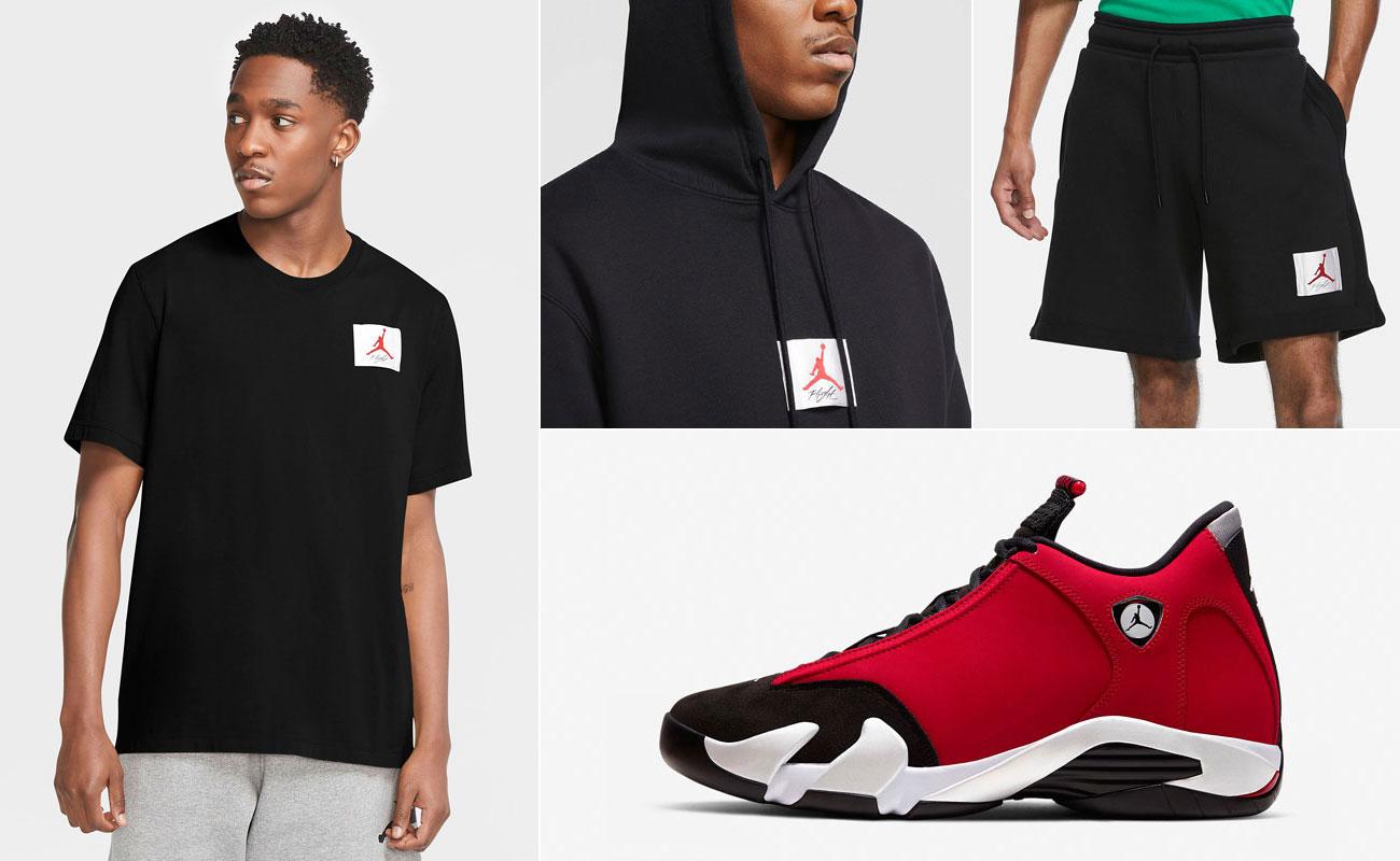 air-jordan-14-toro-gym-red-flight-clothing