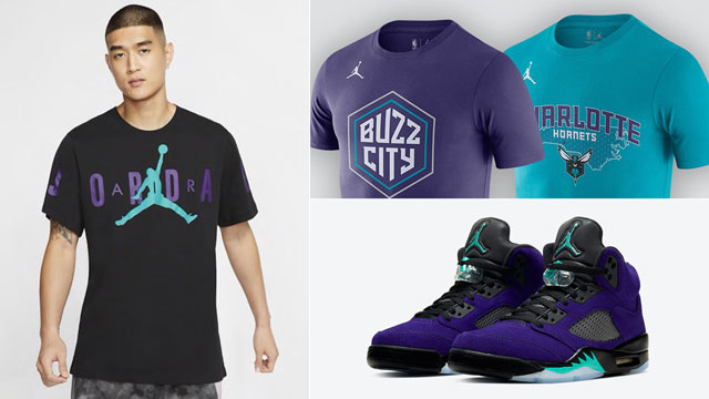 air-jordan-5-grape-purple-alternate-matching-shirts