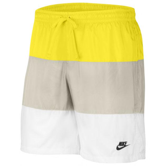 grateful-dead-nike-sb-dunk-low-yellow-bear-shorts-to-match
