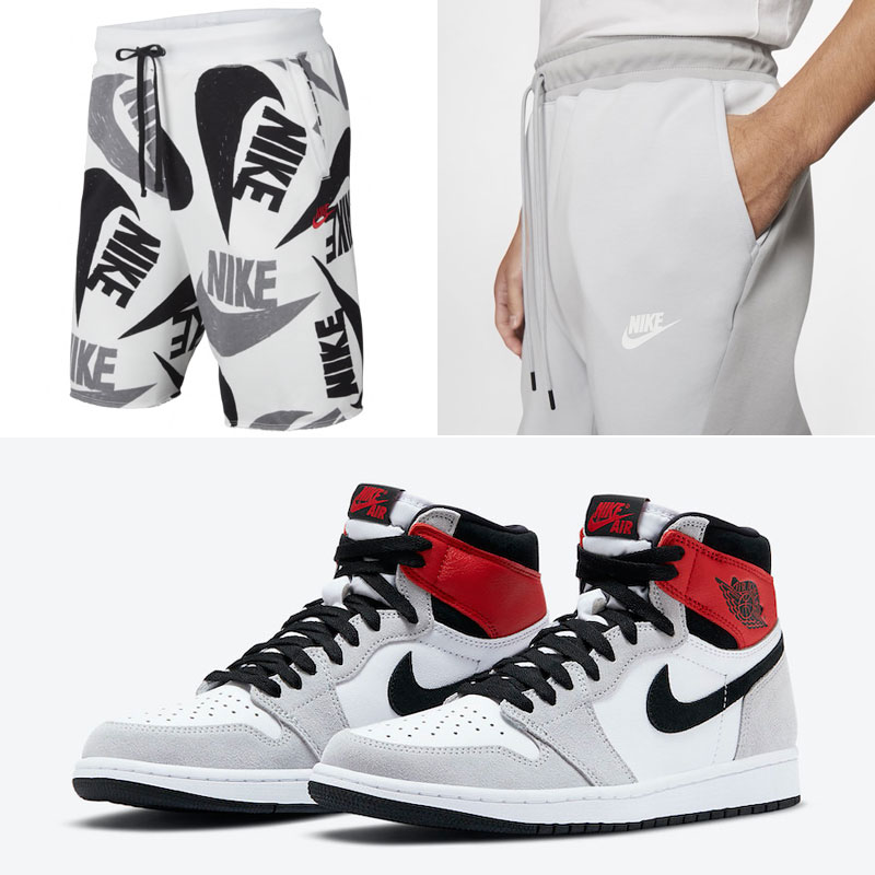 Jordan 1 High Smoke Grey Nike Clothing Sneakerfits Com