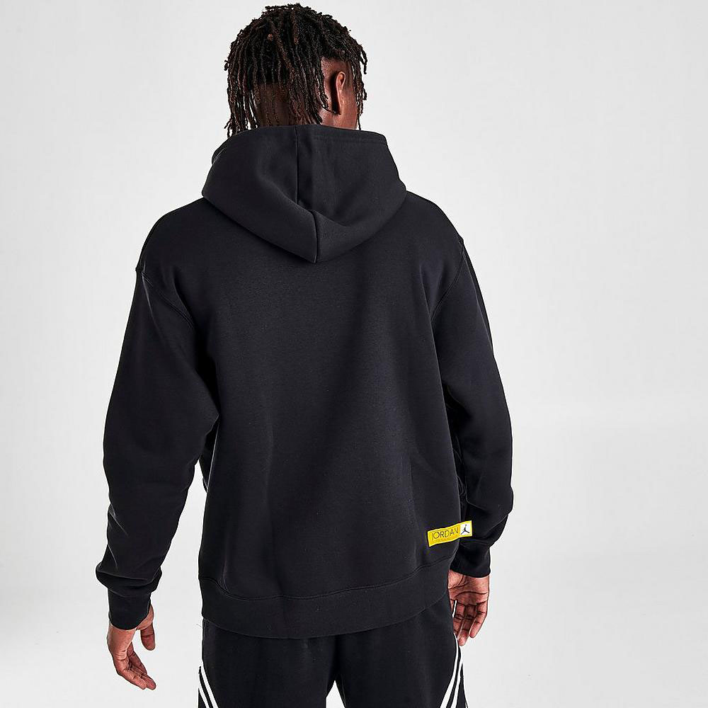 jordan-12-black-university-gold-hoodie-4