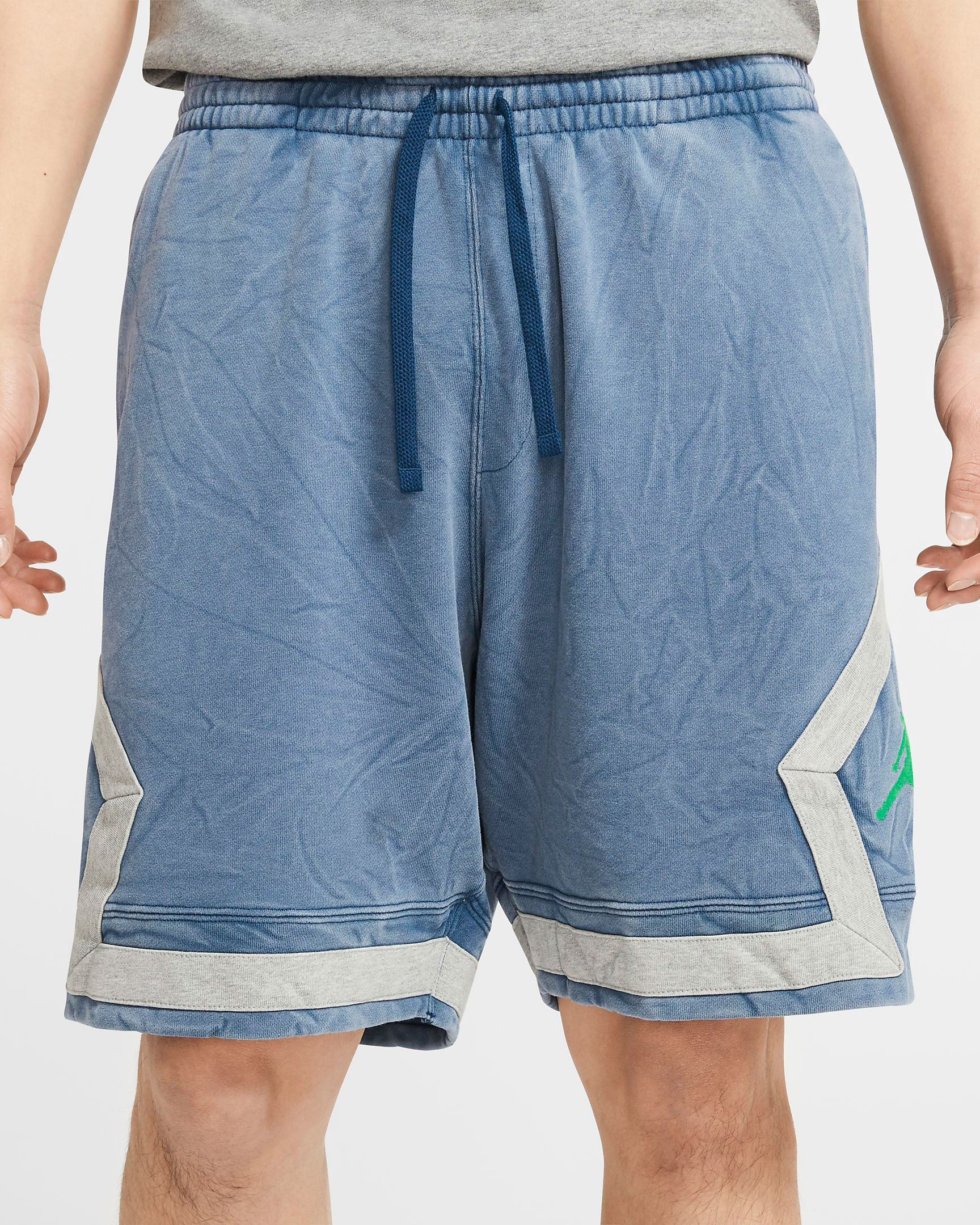 jordan-12-indigo-stone-blue-shorts-match-1