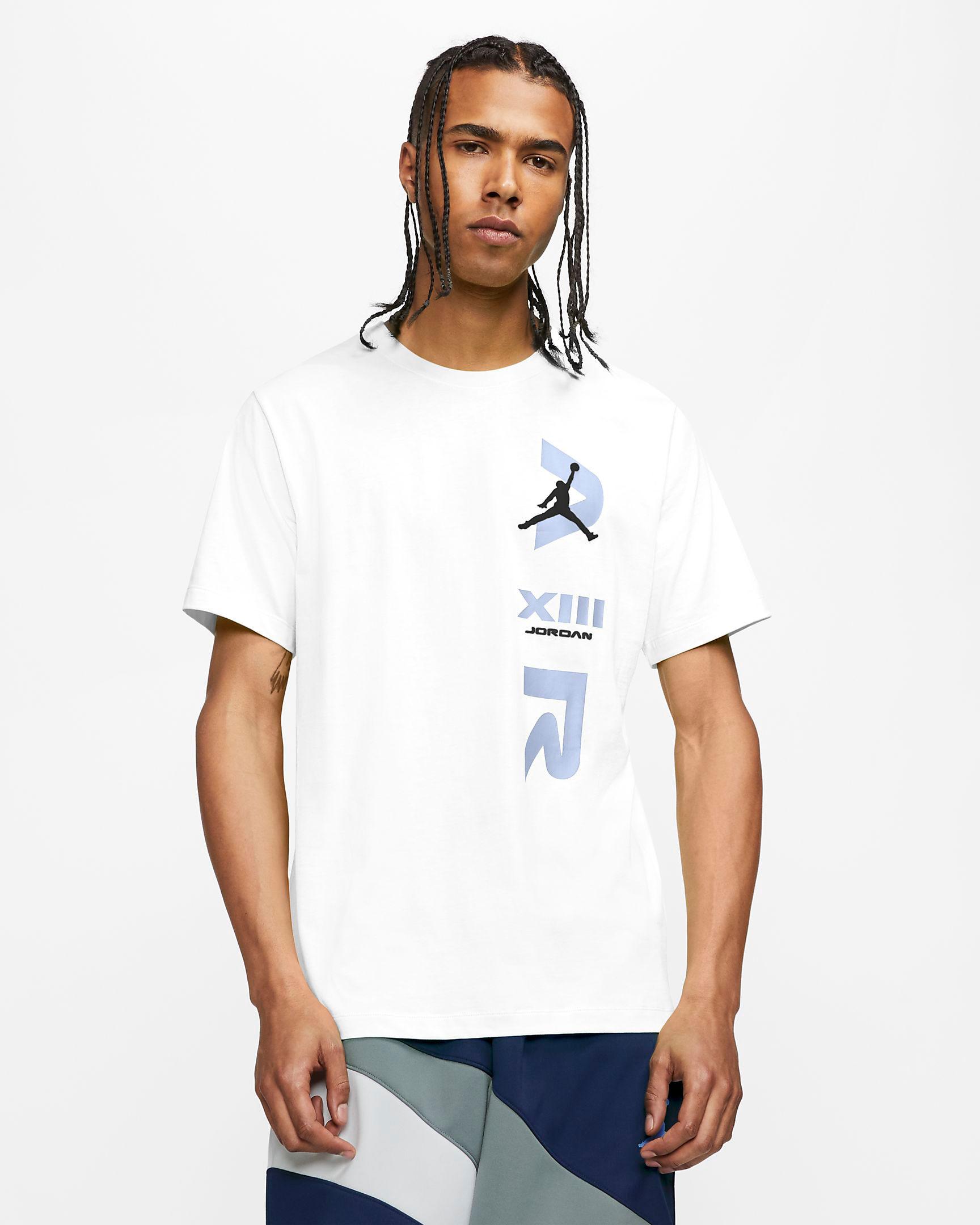 jordan-12-indigo-stone-blue-tee-shirt-match