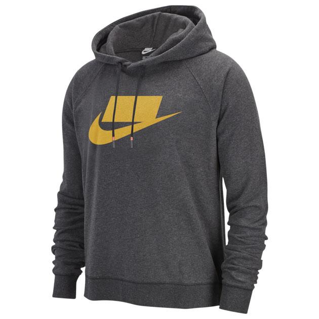 jordan-12-thunder-university-gold-nike-hoodie