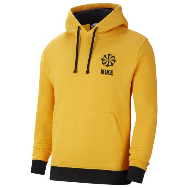 jordan-12-universitry-gold-nike-hoodie-match-1