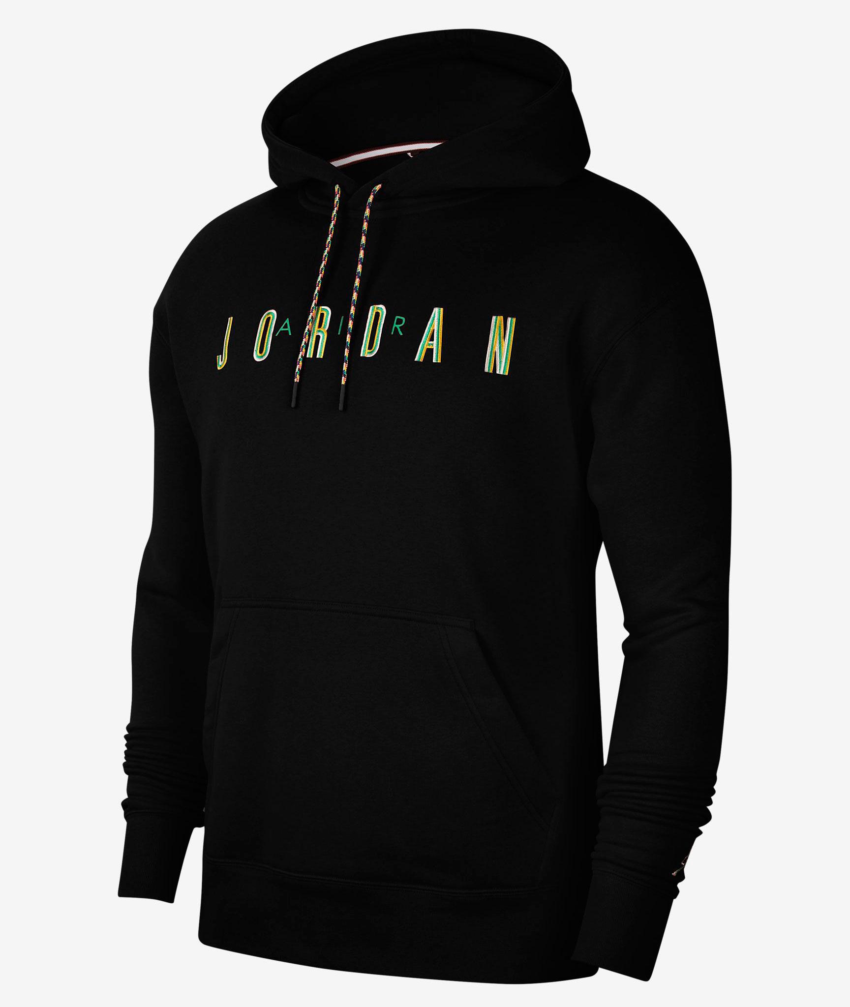 jordan-12-university-gold-hoodie-match