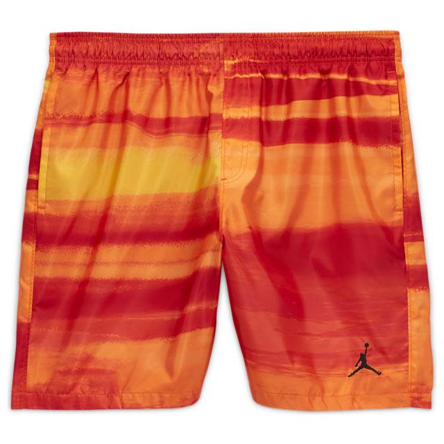 jordan-12-university-gold-matching-shorts-1