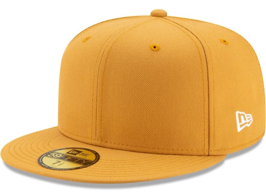 jordan-12-university-gold-new-era-59fifty-fitted-hat-match