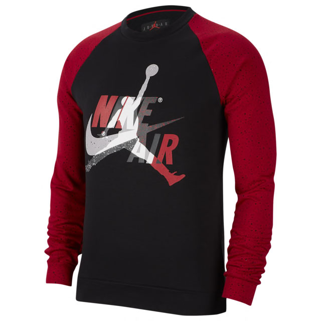 jordan-14-gym-red-crew-sweatshirt-match